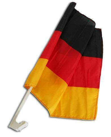 Deutschland Autofahne 30x40