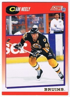 NHL Playerkarte Cam Neely Boston Bruins