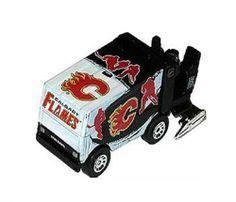 Zamboni Eismaschine Calgary Flames 2012