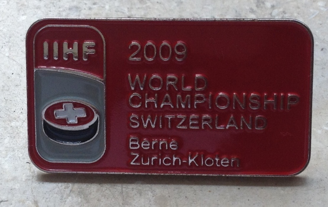Pin Eishockey WM 2009 IIHF Event Pin