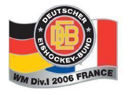DEB Eishockeypin WM- Frankreich 2006