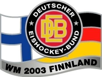 DEB Eishockeypin WM 2003 Finnland