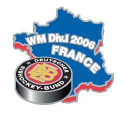 DEB Eishockeypin WM Div I 2006 France