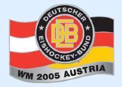 DEB Eishockeypin WM 2005 Austria