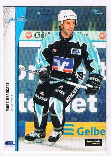 DEL 2005/06 Marc Beaucage Hamburg Freezers