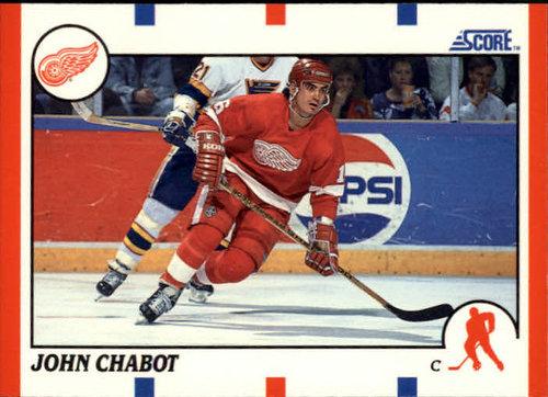 1990-91 Score #277 John Chabot
