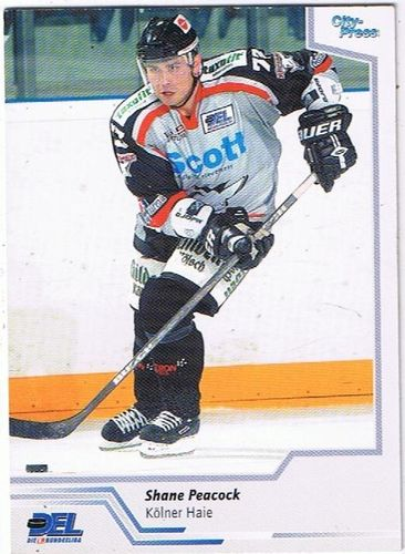 City Press 2002/2003 Shane Peacock Kölner Haie