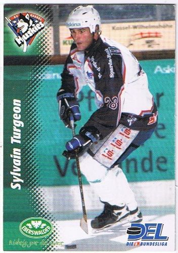 Playerkarte 1999/2000 Sylvain Turgeon Kassel Huskies
