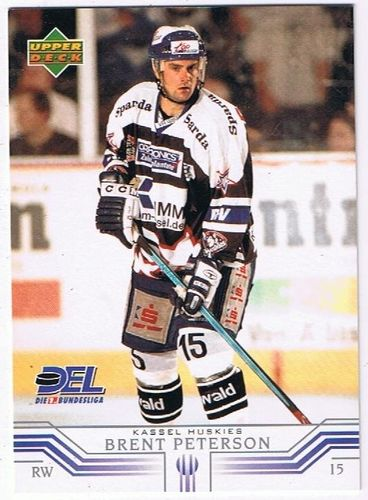 Playerkarte Brent Peterson Kassel Huskies