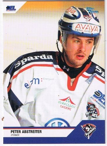 Playerkarte Peter Abstreiter Kassel Huskies