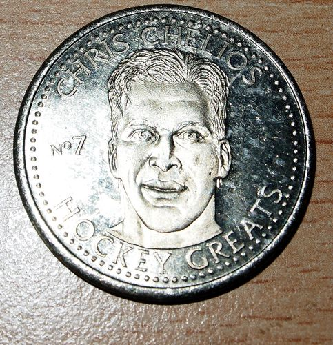 NHLPA Greats Coin  Chris Chelios