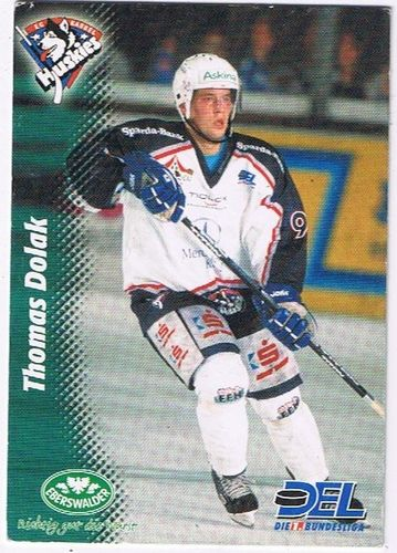 Playerkarte Thomas Dolak Kassel Huskies