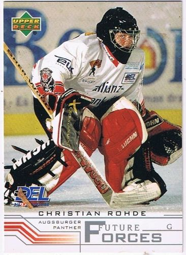 DEL 2001/2002 Christian Rohde Augsburger Panther