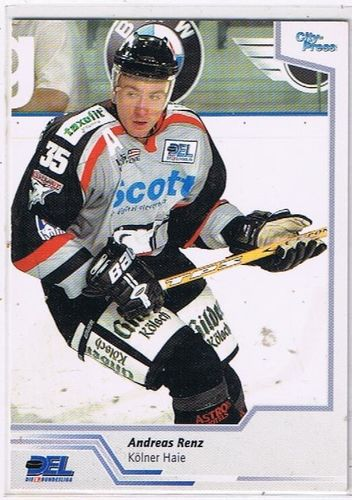 City Press 2002/2003 Andreas Renz Kölner Haie