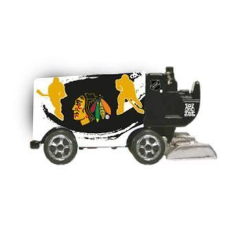 Zamboni Eismaschine Chicago Blackhawks 2013