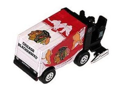 Zamboni Eismaschine Chicago Blackhawks 2012