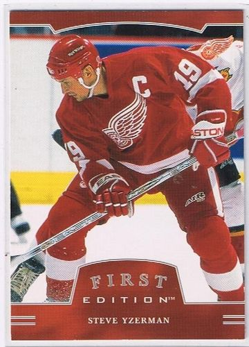 2002/2003 BAP First Edition Steve Yzerman Red Wings