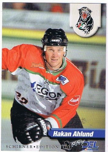 DEL 1998/99 Hakan Ahlund Augsburger Panther