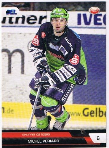 DEL Playerkarte 2008/2009 Michel Periard Ice Tigers