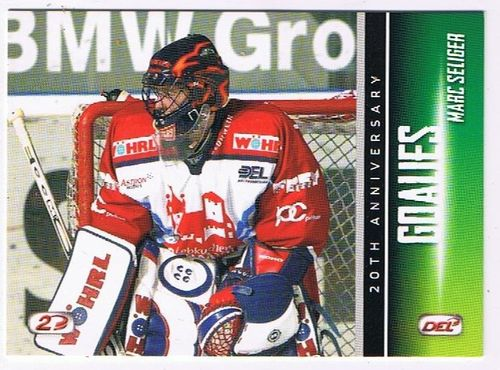 DEL Playerkarte 2013/2014 Marc Seliger Ice Tigers