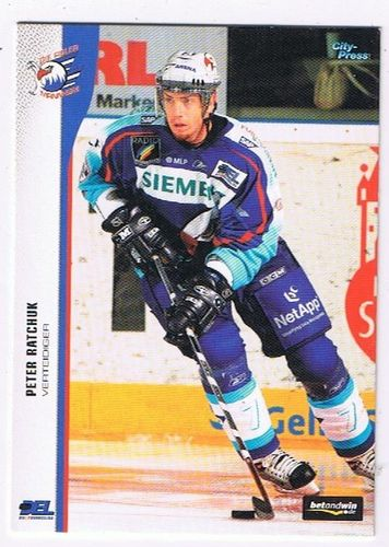 DEL Playerkarte 2005/06 Peter Ratchuk Adler Mannheim