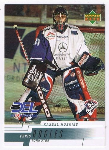 DEL 2000/01 Chris Rogles Kassel Huskies