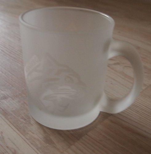 Kaffebecher Glas Nürnberg Ice Tigers