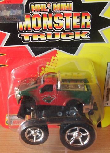 NHL Mini Monster Truck Minnesota Wild Wings