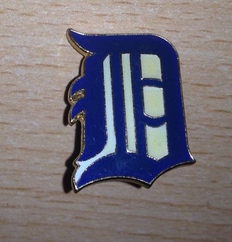 Logopin Detroit Tigers old English