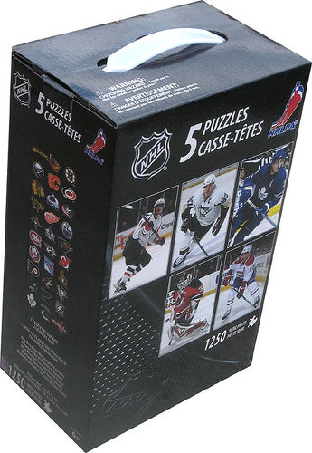 NHL Puzzles (5 x 250 Teile) NHL Quebec