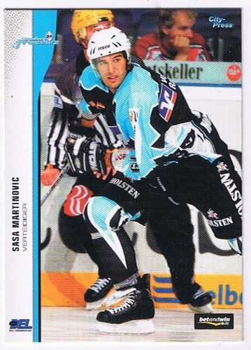 DEL 2005/06 Sasa Martinovic Hamburg Freezers