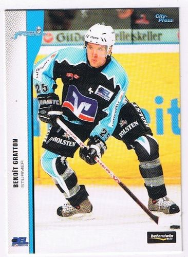 DEL 2005/06 Benoit Gratton Hamburg Freezers