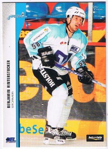 DEL 2005/06 Benjamin Hinterstocker Hamburg Freezers