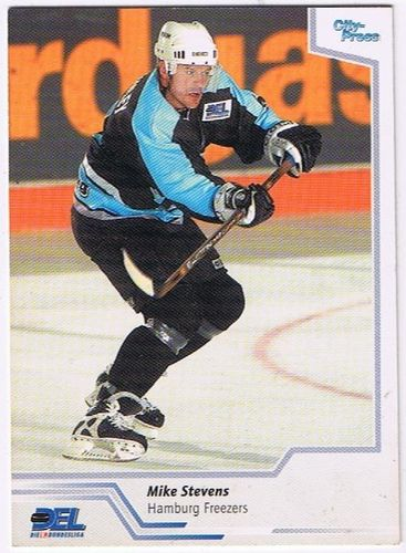 DEL 2002/2003 Mike Stevens Hamburg Freezers