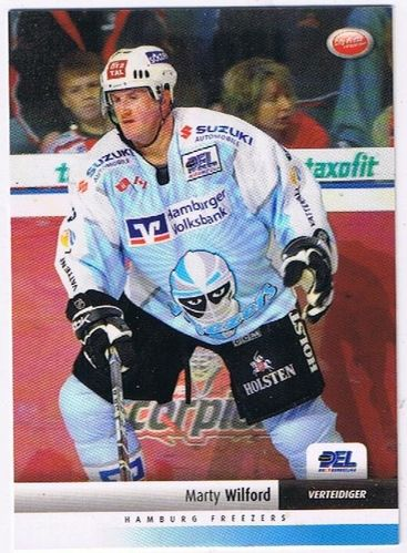 DEL 2007/2008 Marty Wilford Hamburg Freezers