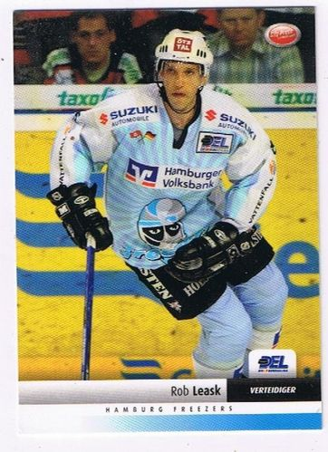 DEL 2007/2008 Rob Leask Hamburg Freezers
