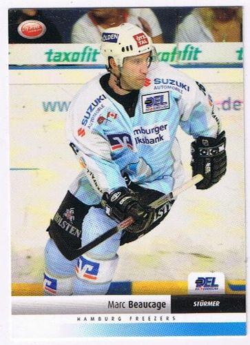 DEL 2007/2008 Marc Beaucage Hamburg Freezers