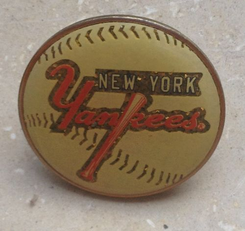 Baseball Pin Ball New York Yankees