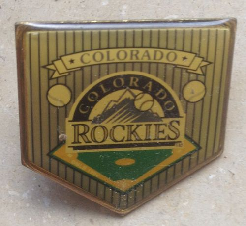 Baseball Pin Wimpel Colorado Rockies