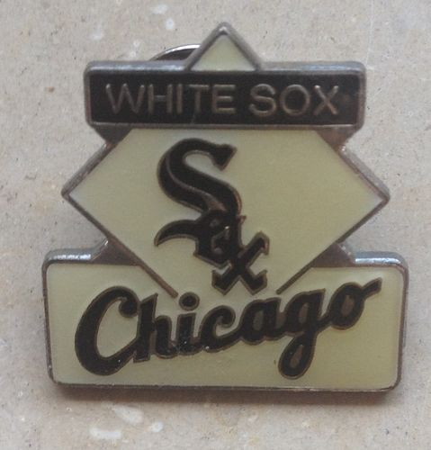 Baseball Pin White Sox Chicago